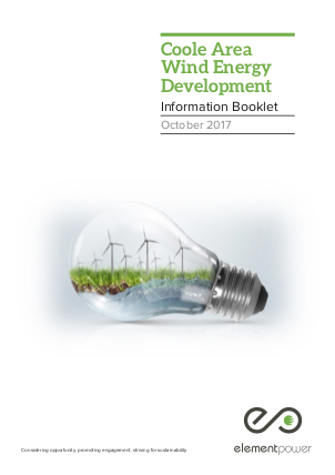 Coole Wind Farm PDF cover